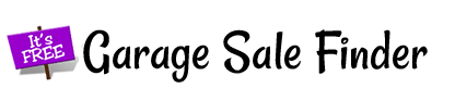 Garage Sale Finder, list your garage sale for free